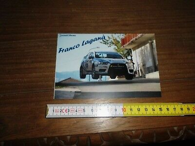 Vomero Racing Franco Lagana' Mitubishi Lancer Evo Rally Card Karte
