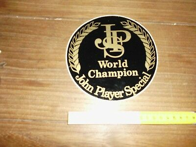 Jps John Player Special World Champion Adesivo Sticker Aufkleber Autocollant