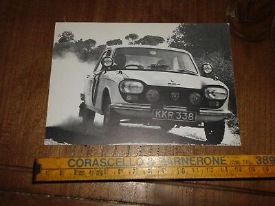 Peugeot 204 East African Safari Rally 1967 Limited Edition Postcard Card Karte