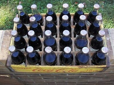 Collectibles Coca Cola 75Th Aniversary Wood Crate 24 Bottles