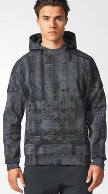 NEW Mens Adidas ZNE Pulse Hoodie Top Pullover Casual Gym Ltd Edition Retro £££
