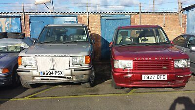 spares-or repairs-- range rover p38-i have 2     1st £1500   takes both