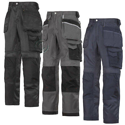 Snickers Ultimate Work Trousers with Kneepad & Holster Pockets . UK DEALER-3212