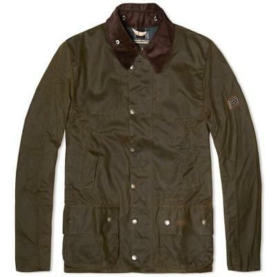 Barbour Land Rover Chartner Waxed Jacket Size XXL - Brand New
