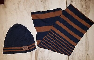 mayoral boys hat and scarf 4/5