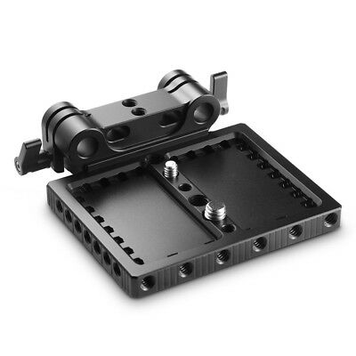 SmallRig Base Plate Riser  for RED Raven/Scarlet-W/Epic-W/Weapon with Rod Clamp