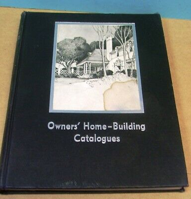 Architectural Interest 1939 Home Building Catalogs Book Beautifully Illus