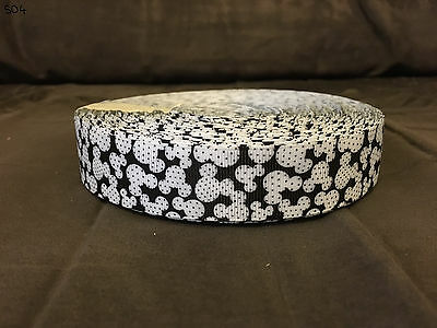 Grosgrain Ribbon Mickey Mouse Ears (1m, 2m or 5m)