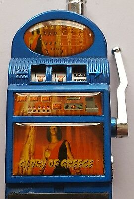 Slot Lighter Machine Vintage Small Las Vegas Tobacco Rechargable Cigarette