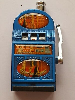 Slot Lighter Machine Vintage Casino Las Vegas Tobacco Rechargable Cigarette