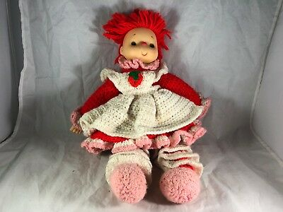 Vintage Strawberry Shortcake By Brand Company Character Dolls
