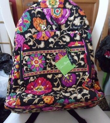 Vera Bradley Campus backpack  in Suzani pattern