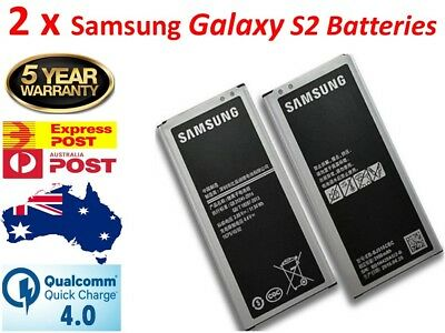 2x Premium OEM Battery Replacement for Samsung Galaxy S2 - A+++ Quality