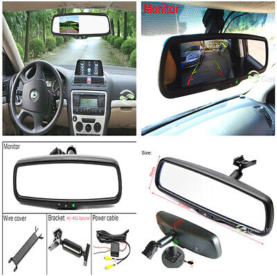4.3'' LCD HD Auto Dimming Rear View Mirror Monitor for DVD VCD Rearview Camera