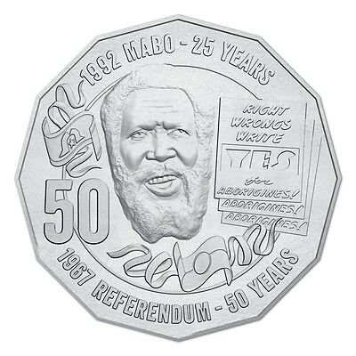 2017 Eddie Mabo Pride & the Passion 50c Uncirculated Coin