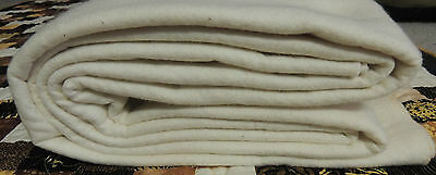 Quilt wadding / batting 80/20 cotton poly 2.4m x 3m suit up to queen size