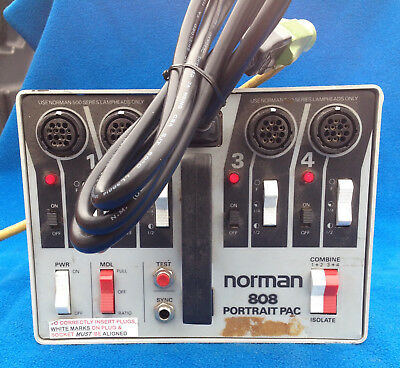 Norman Portrait Pac Power Supply - Model 808