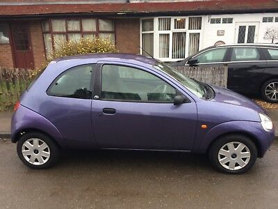 Purple Ford Ka  Miles
