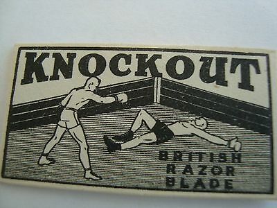 BOXING COLLECTABLE - QUIRKY / VERY OLD /  VINTAGE  [1930 - 40s]