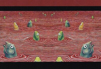 AUSTRALIAN AVANT ART POSTCARD Fine Art of Surfacing by HenRike Clemens