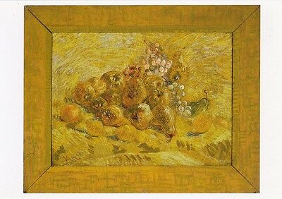 VINCENT VAN GOGH MUSEUM ART PRINT POSTCARD Quinces, Lemons, Pears and Grapes
