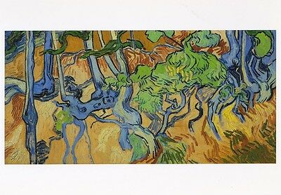VINCENT VAN GOGH MUSEUM ART PRINT POSTCARD Tree Roots