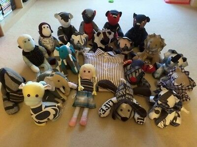 Handmade Memory/ Keepsake Animals And Bears Made From Loved Ones Special Clothes