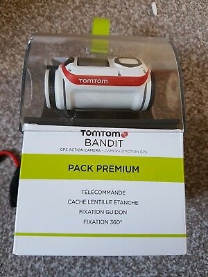 Tomtom Bandit Premium Pack 4K Action Camera Bundle, Excellent Condition