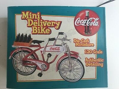 Coca Cola Mini Delivery Bike