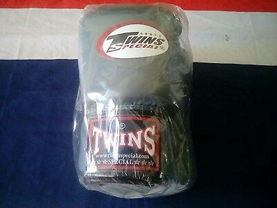 Twins special boxing gloves, grey, 10oz.