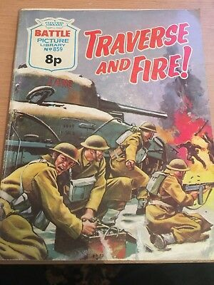 Traverse And Fire, Battle Picture Library No 859, 1974