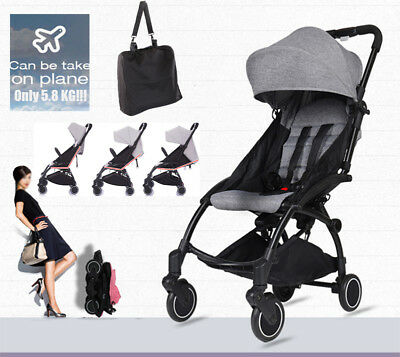 Mini Pram Baby Stroller Travel System Pushchair infant carriage Carry Boarding