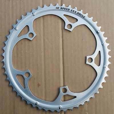 Campagnolo 10 speed EXA DRIVE CHAINRING 53 T 135 BCD NOS NEW