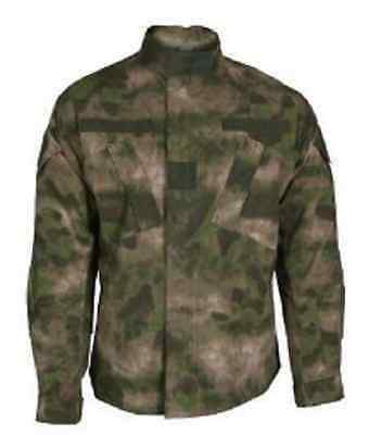 US ACU A-TACS FG ATACS Army Combat Tactical camouflage Coat Jacke XLarge Long
