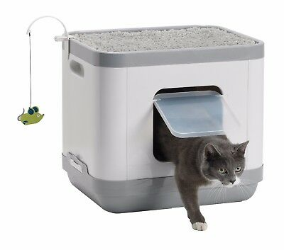 Clean & Tidy Cat Concept Cats Toilet Bed Scratcher Multiloo Cube Pad Scratch Toy