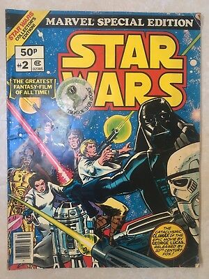 Star Wars No.2 Marvel Special Edition Giant Comic Book 1977