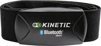 Kinetic Heart Rate Strap and Sensor with Bluetooth Smart: Black