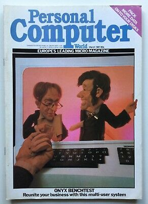 Vintage Personal Computer World Magazine | March 1981