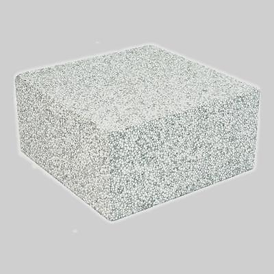 "EPS Air Handler Block 8"" x 8"" x 4"" (Concrete Gray) (7-60)"