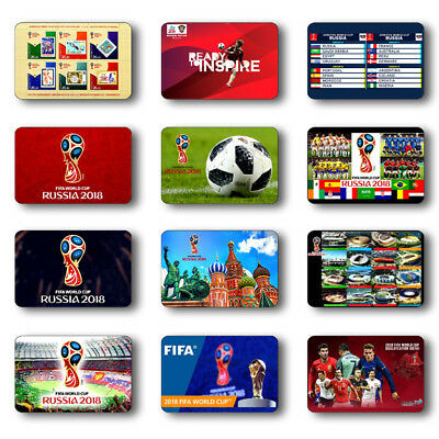 Russia 2018 Fifa World Cup Soccer Souvenirs Fridge Magnet Choose From 42 Images