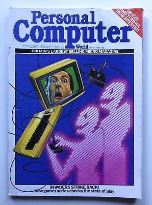 Vintage Personal Computer World Magazine | March 1982