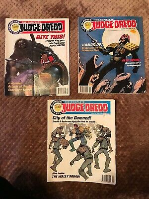 Complete Judge Dredd issue 30-33-39