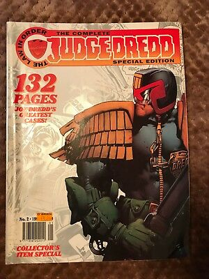 2000AD The Complete Judge Dredd Special Edition 1995