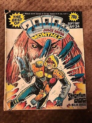 2000AD Monthly 24