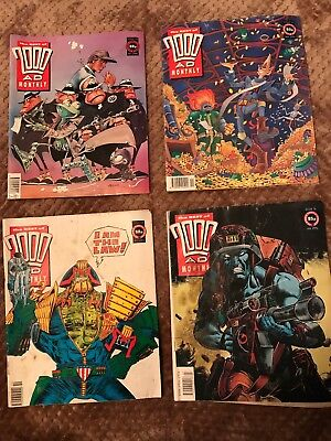 2000AD Monthly 70-73-74-75