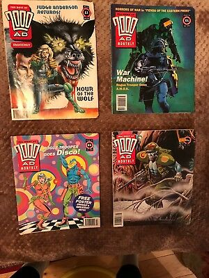 2000AD Monthly 90-94-95-98