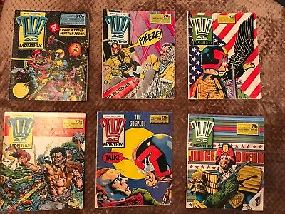 2000AD Monthly 30-35