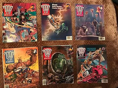 2000AD Monthly 82-83-84-85-86-89