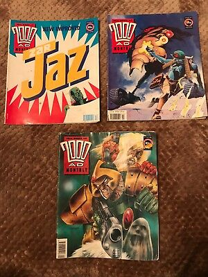 2000AD Monthly 63-65-68