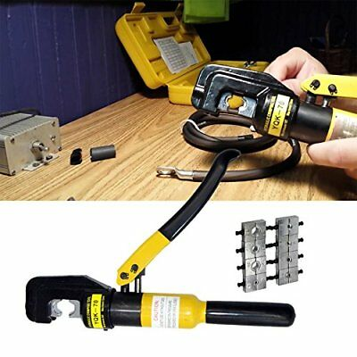 PENSON CAYQK007010 Hydraulic Wire Battery Cable Lug Terminal Crimper Crimping...